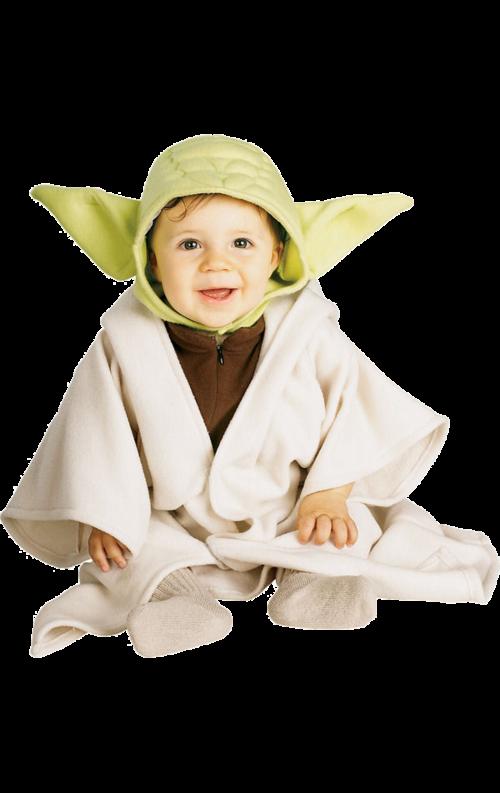 Yoda Bebis Maskeraddräkt