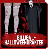 Billiga Halloweendräkter