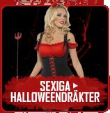 Sexiga Halloweendräkter