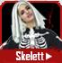 Skelett & mumiedräkter
