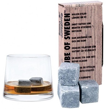 Ice cube of Sweden whiskeystenar
