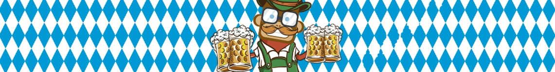 Oktoberfest Dekoration & Prylar