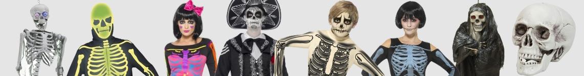 Skelettdräkter & Mumiedräkter