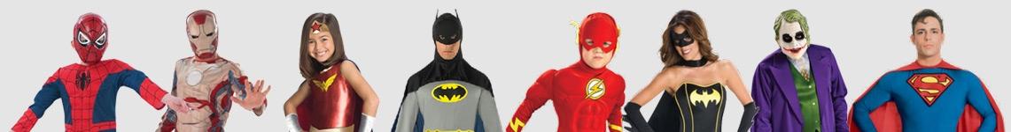 Superhjältedräkter