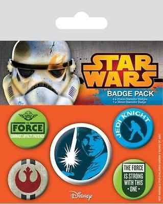 Star Wars Knappar Jedi 5-pack thumbnail