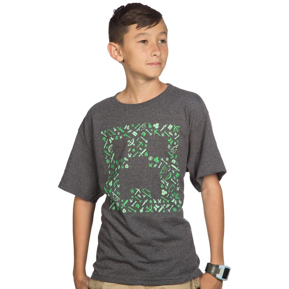 Minecraft Creepy Barn T-shirt