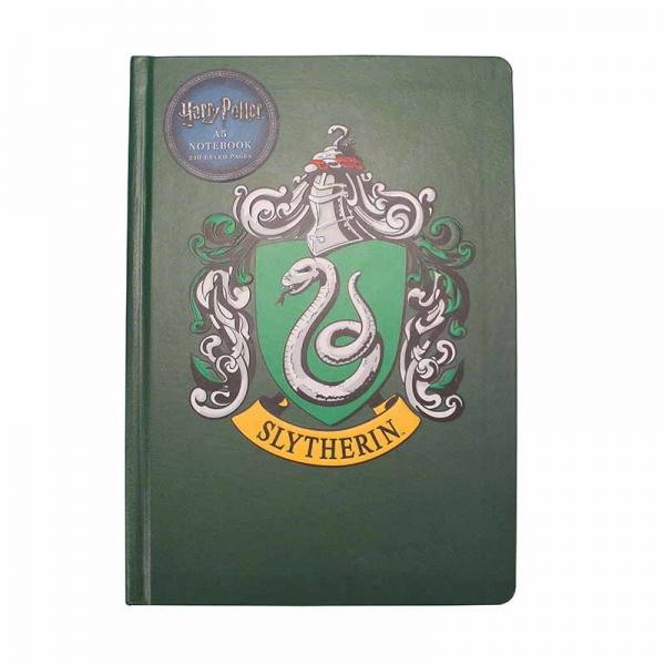 Harry Potter Slytherin Anteckningsbok A5