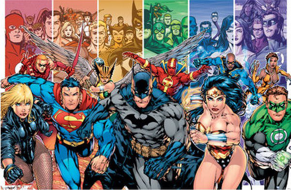 Justice League Generationer Poster