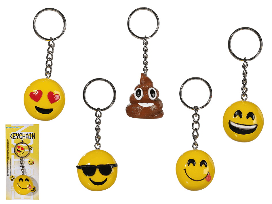 Emoji nyckelring