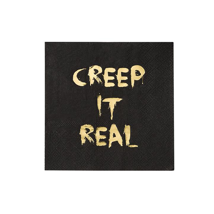 Servetter Barock Creep It Real 16-pack