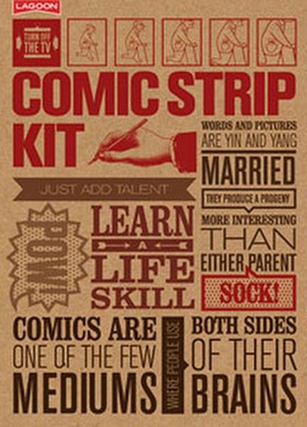 Lär dig teckna serier - kit