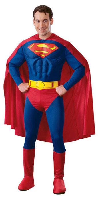 Superman Muskulös Maskeraddräkt