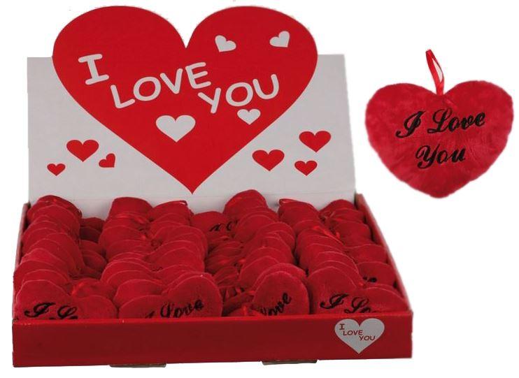 Fluffigt I Love You hjärta