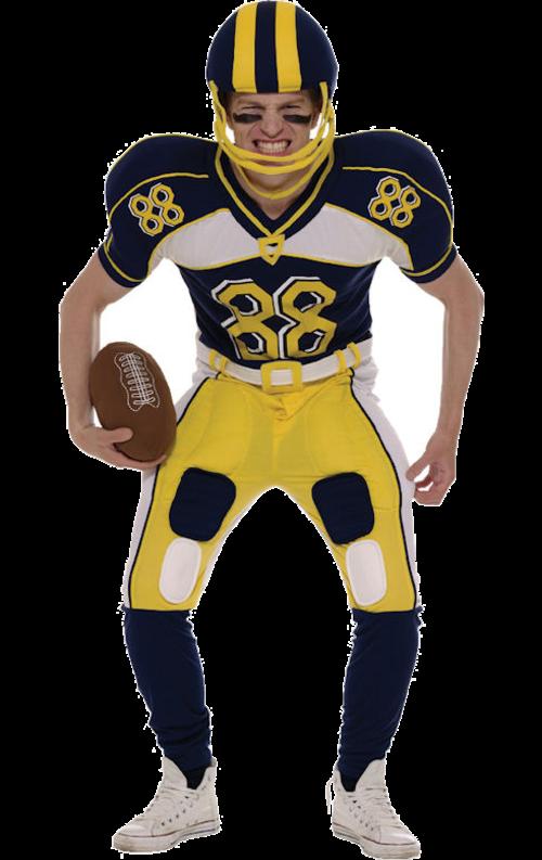 Maskeradkläder Vuxna - Amerikansk Fotbollsspelare Maskeraddräkt