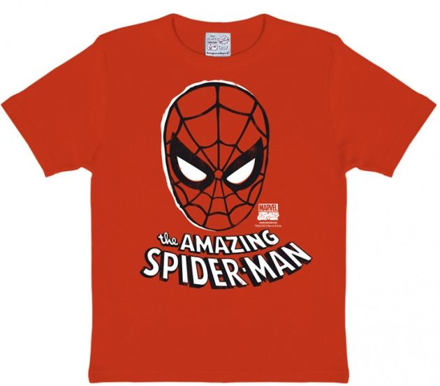 Marvel Den Fantastiska Spindelmannen Mask T-Shirt Barn thumbnail