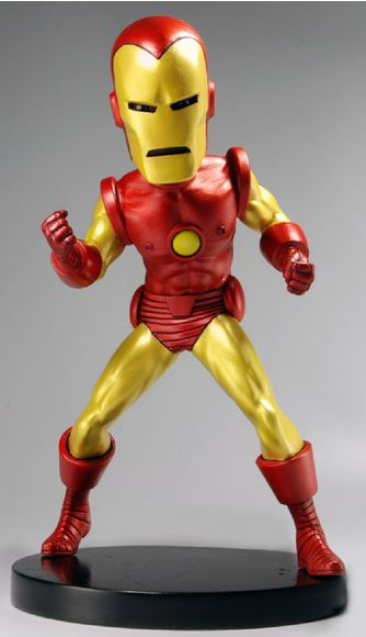 Marvel Classic Extreme Head Knocker Bobble-Head Iron Man thumbnail