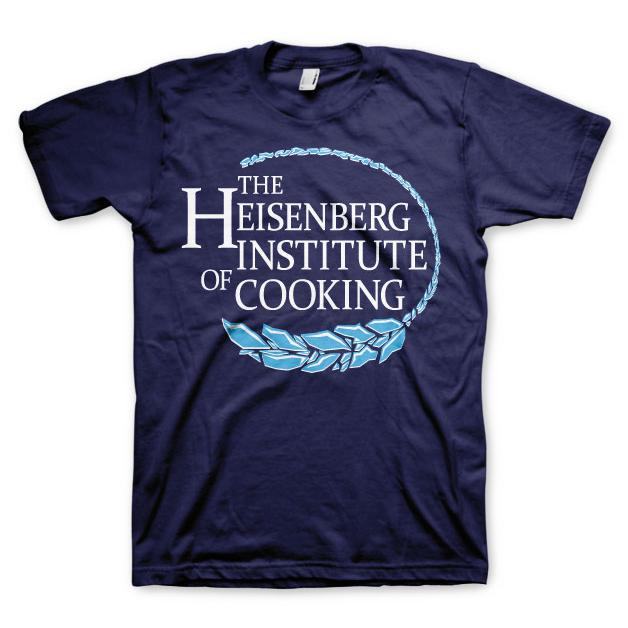 Breaking Bad Heisenberg Institute Of Cooking T-Shirt Marinblå thumbnail