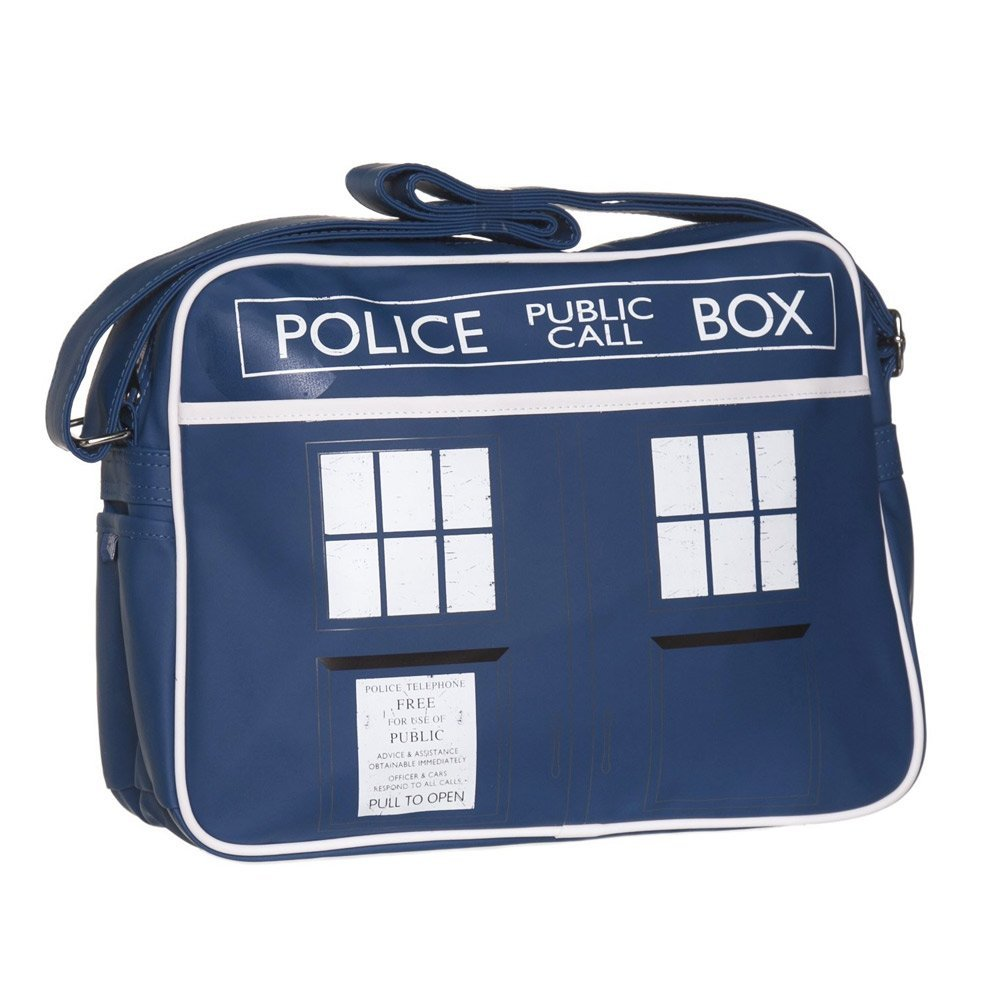 Doctor Who Tardis Messenger Väska