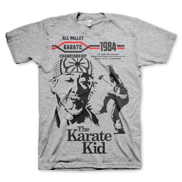 The Karate Kid T-Shirt Grå thumbnail