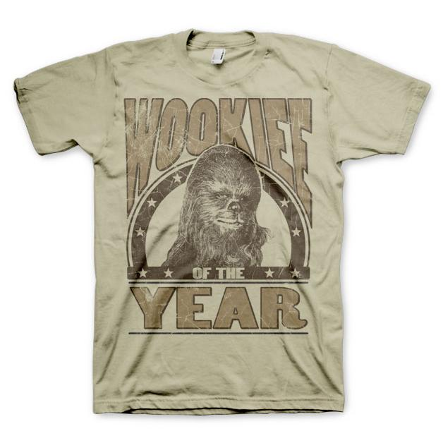 Star Wars Wookiee Of The Year T-Shirt thumbnail