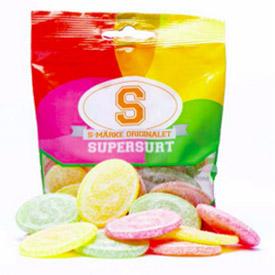 S-Märke Supersura 80g Påse thumbnail