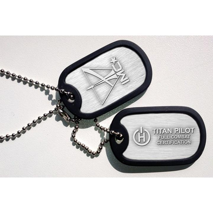 TitanFall Dogtag Combat Certified Pilot Halsband