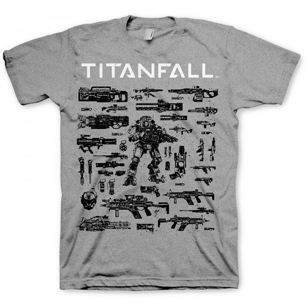 Titanfall T-Shirt Choose Your Weapon