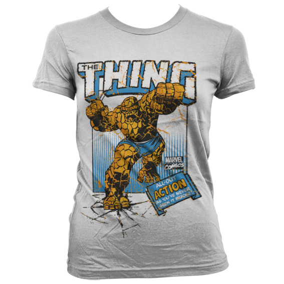 The Thing Action Girly T-Shirt Vit thumbnail