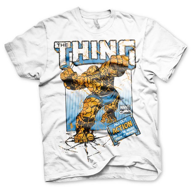 The Thing Action T-Shirt Vit thumbnail