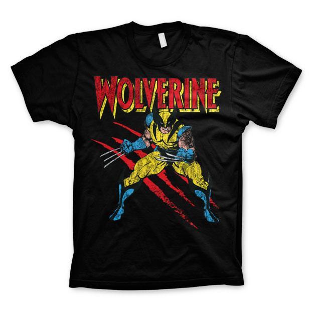 Wolverine Scratches T-Shirt Svart thumbnail