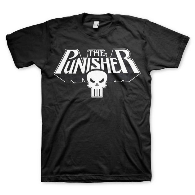 The Punisher Logo T-Shirt Svart thumbnail