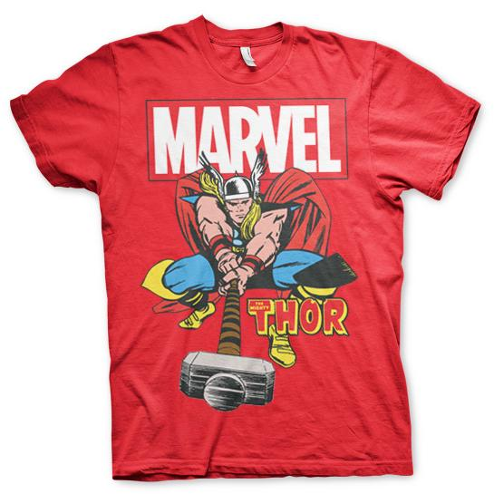 The Mighty Thor T-Shirt Röd thumbnail