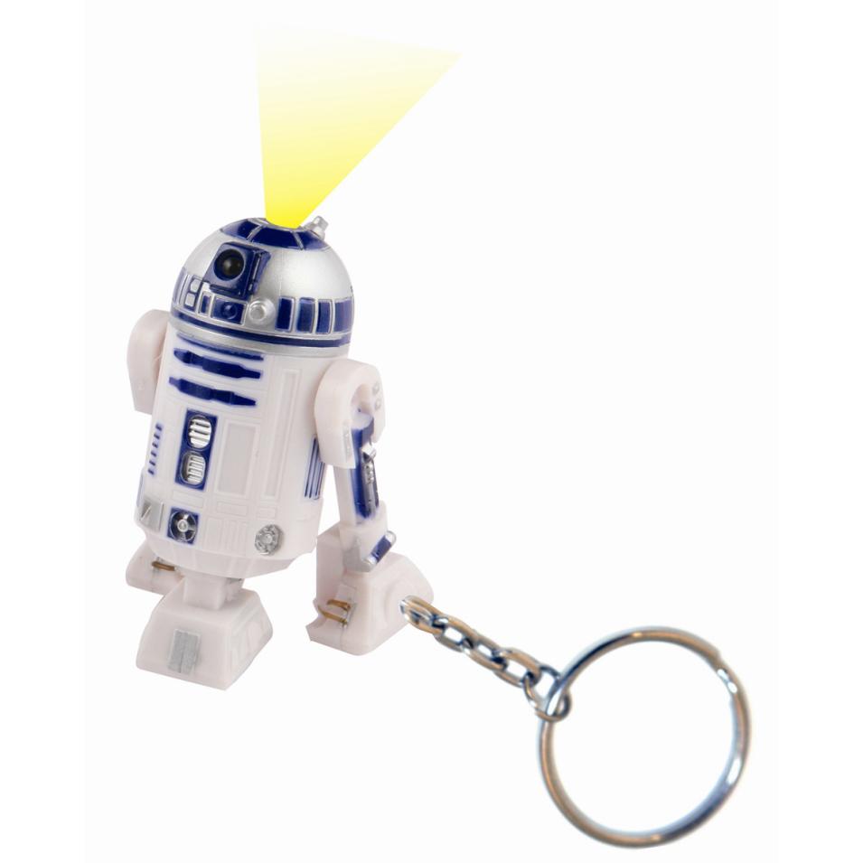 Star Wars R2-D2 Nyckelring med Ficklampa thumbnail