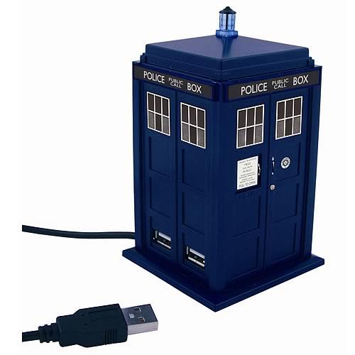 Doctor Who Tardis USB Hubb