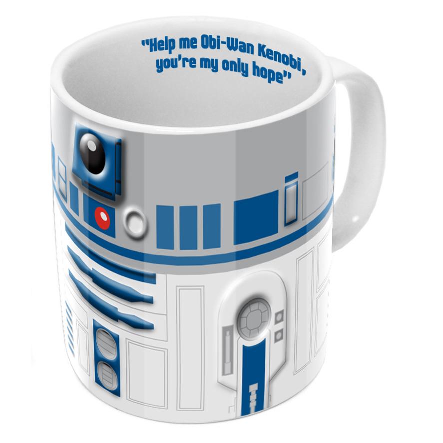 Star Wars R2-D2 Relief Mugg thumbnail
