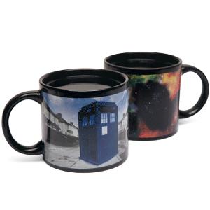 Doctor Who Tardis Värmekänslig Mugg thumbnail