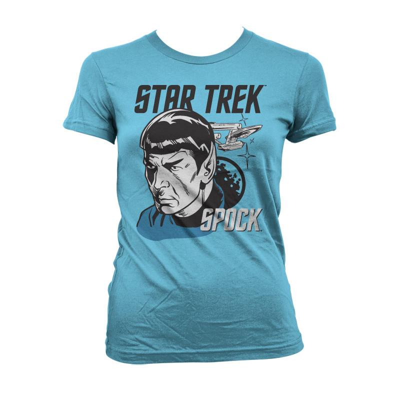 Star Trek & Spock Girly T-Shirt