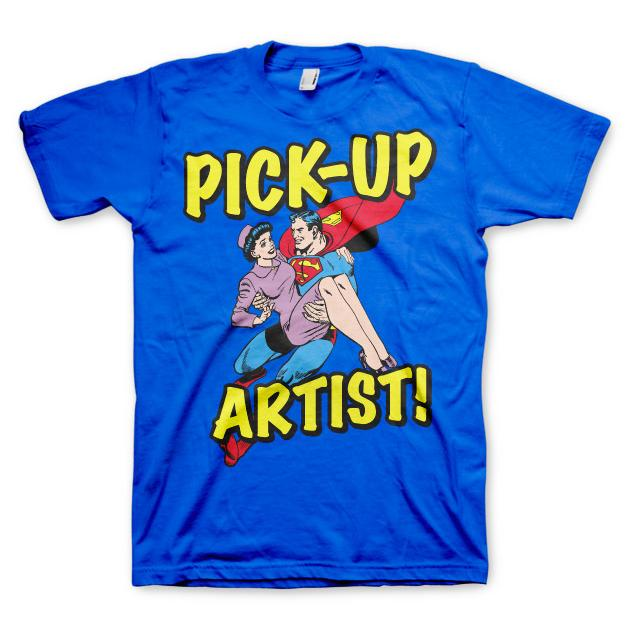 Superman Pick-Up Artist T-shirt thumbnail