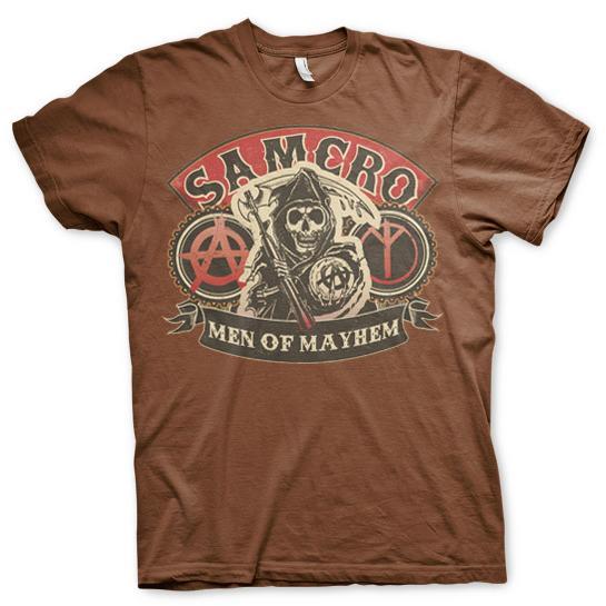 SAMCRO - Men Of Mayhem T-Shirt thumbnail