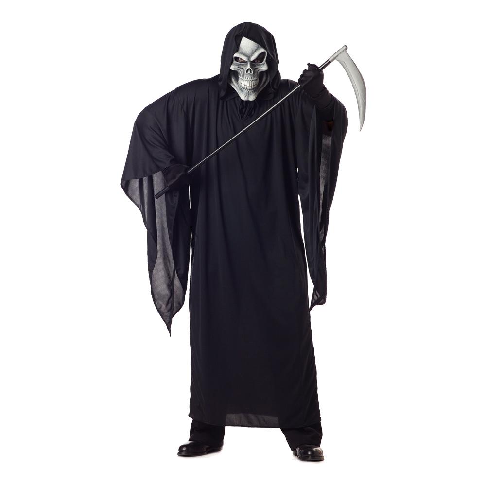 Maskeradkläder Vuxna - Grim Reaper (Döden) Maskeraddräkt