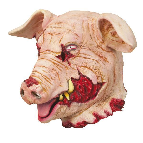 Blodigt Grishuvud Mask
