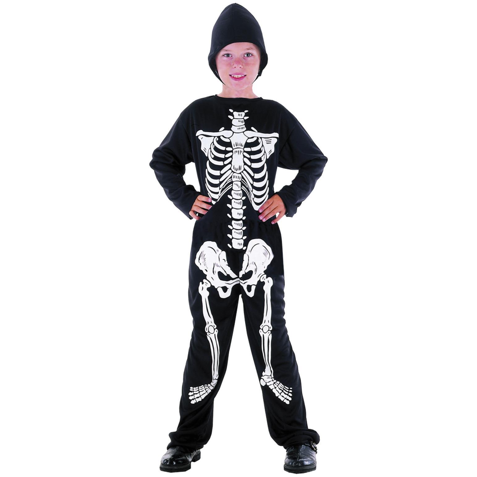Skelett Budget Maskerad Barn thumbnail