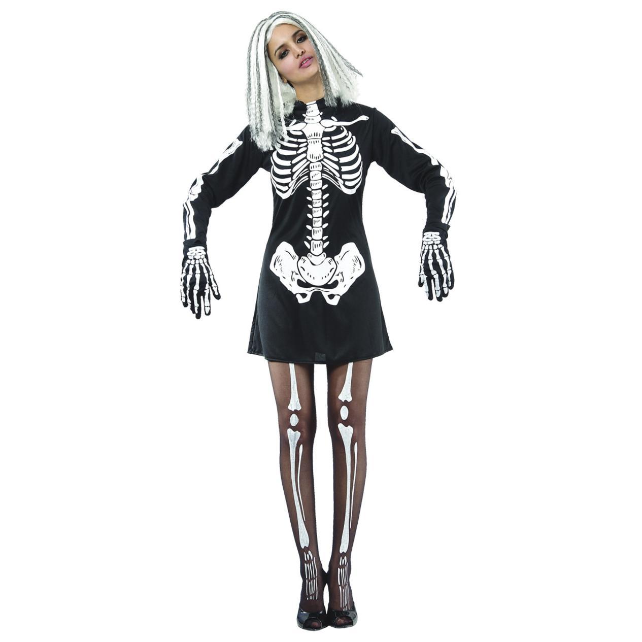 Skelettklänning Maskerad thumbnail