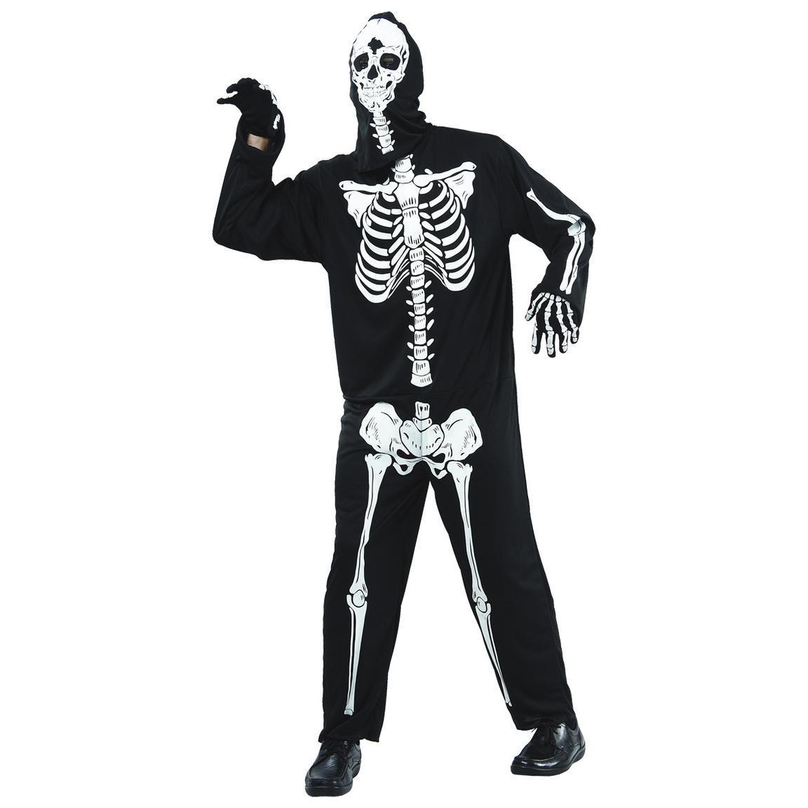 Det ska inte behöva kosta en massa för gå på maskerad eller att se ut som  en skelett. Denna maskeraddräkt består av en huva och en overall och är en  ... e8dd914758819