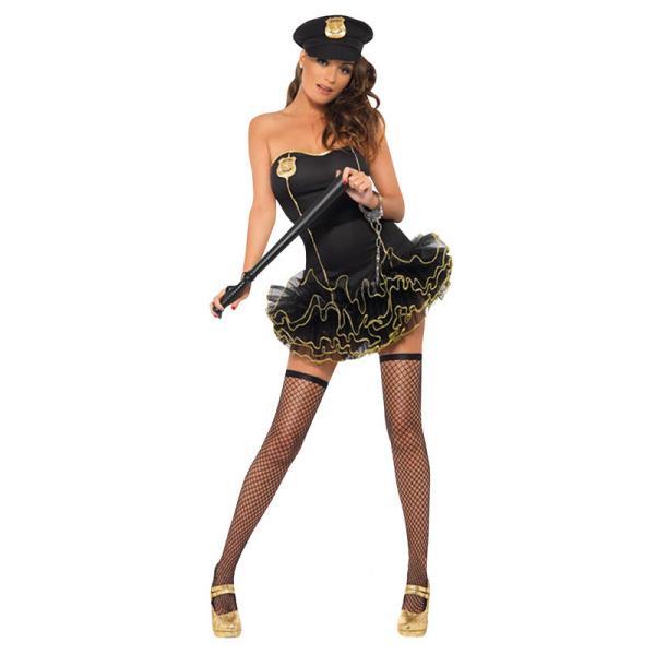 Sexig Polisklänning Maskerad thumbnail