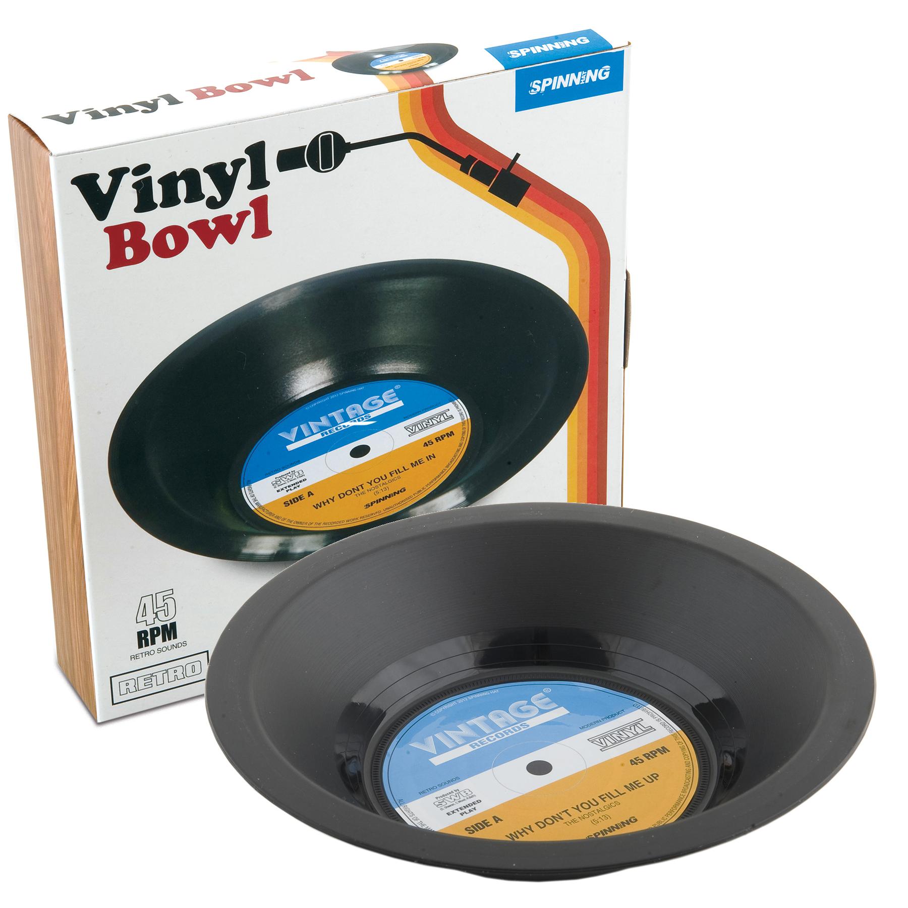 Retro Vinylskål thumbnail