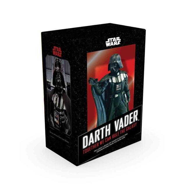 Star Wars Darth Vader - Figur & Bok med citat thumbnail