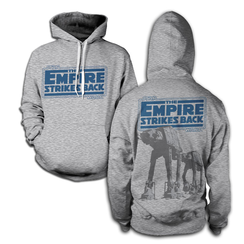 Star Wars Empire Strikes Back AT-AT Hoodie thumbnail