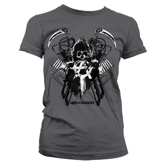 Sons Of Anarchy Engine Reaper Dam T-Shirt thumbnail