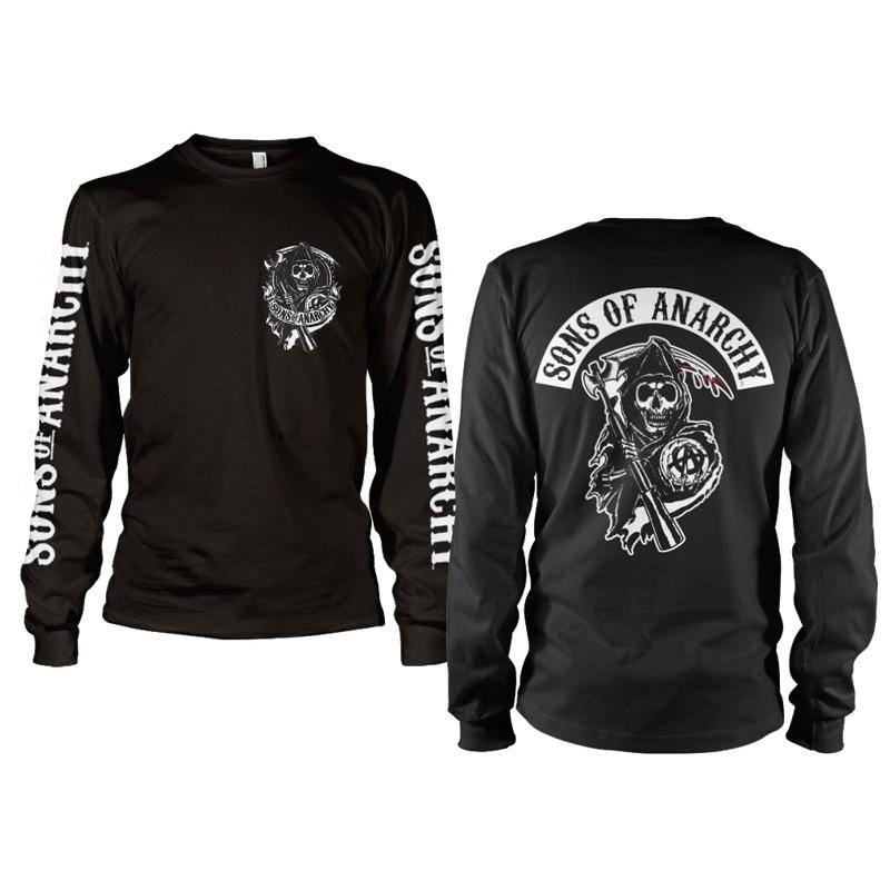 Sons Of Anarchy Backpatch Long Sleeve thumbnail